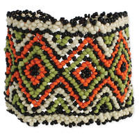 Beaded Tribal Stretch Bracelet