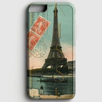 Eiffel Tower Postcard iPhone 6 Plus/6S Plus Case | casescraft
