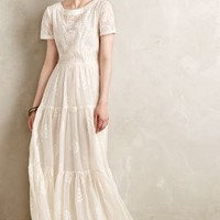 Embroidered Lera Maxi Dress