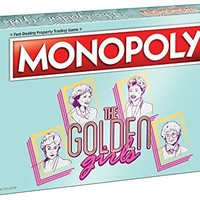 USAopoly The Golden Girls Monopoly Board Game