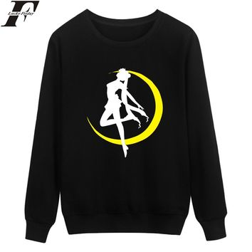 LUCKYFRIDAYF Sailor Moon Sweatshirts New Design Women Hoodies Sweatshirts Oversize XXS To 4XL Japanese Anime Funny Clothes