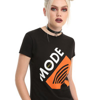 Depeche Mode Behind The Wheel Girls T-Shirt