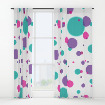 Dots Window Curtains by edrawings38