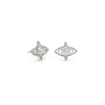Crosby Silver Stud Earrings | Jewelry | Kendra Scott