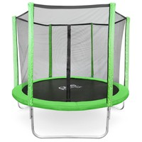 Pure Fun Dura-Bounce 8ft Trampoline with Enclosure