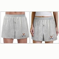 UVA Boxers Sm University of Virginia 90% Cotton Boxer Shorts for Him or Her