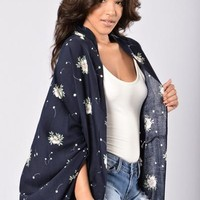 Fall For You Kimono - Navy | Fashion Nova