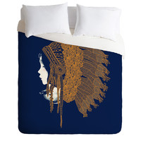 Budi Kwan Native Headpiece Duvet Cover