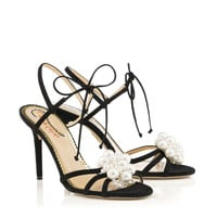 Tallulah in Black - Sandals | Charlotte Olympia