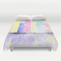 Skyline Duvet Cover by Kathleen Sartoris