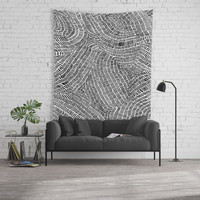 Aimless Wall Tapestry by duckyb