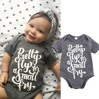 Baby Boy Girls Casual Romper Jumpsuit Clothes Outfits Baby Romper