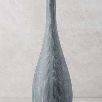 Listras Vase by Anthropologie in Slate Size: