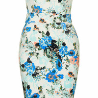 **HALO PRINTED BODYCON DRESS BY TFNC