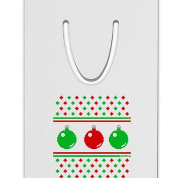 Ugly Christmas Sweater Ornaments Aluminum Paper Clip Bookmark