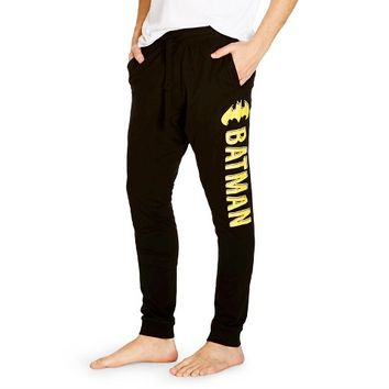 Men's Batman Joggers Black