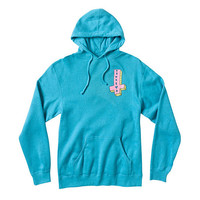 Odd Future Official Store | OF ITS US CROSS TURQUOISE HOODIE