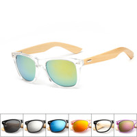 16 Colors - Wood Sunglasses