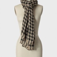 nobility houndstooth scarf at ShopRuche.com