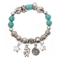 Superior New Turquoise Beads Bracelet Handmade Accessories Fashion Jewelry Mar31