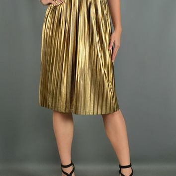 Gold Grecian Goddess Skirt