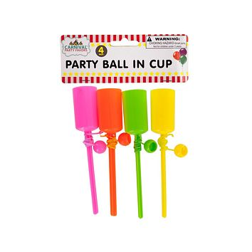 Party Ball in Cup Set Case Pack 24