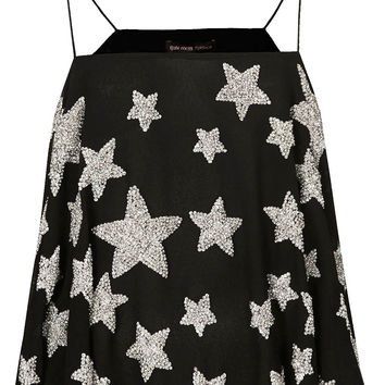 **EMBELLISHED STAR CAMI TOP BY KATE MOSS FOR TOPSHOP