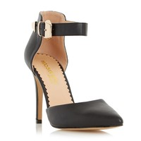 Head Over Heels Ladies CHRISTA - Two Part Pointed Toe Court Shoe - black | Dune Shoes Online
