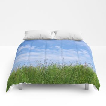 Summer day Comforters by Pirmin Nohr
