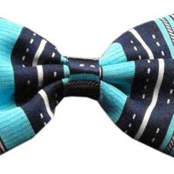 LMFHJ2 Dog Bow Tie Dog's Night Out