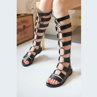 Cool Gladiator Girl Shoes, All Sizes
