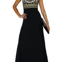 New 2015 Women Beach Long Ladies Tribal Embroidery Dresses Designer Elegant Fashion Party Sleeveless Maxi Dress-in Dresses from Women's Clothing & Accessories on Aliexpress.com   Alibaba Group