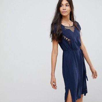 Sugarhill Boutique Butterfly Cutwork Embroidered Dress at asos.com