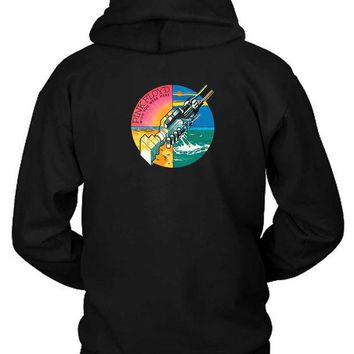 DCCKG72 Pink Floyd Wish You Were Here Hoodie Two Sided