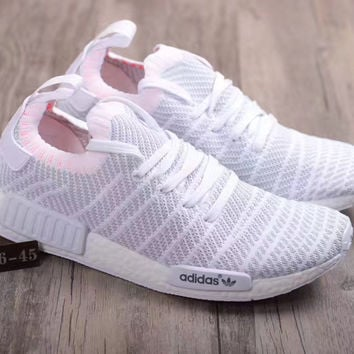 Adidas: NMD R1 primeknit PK fashion casual shoes