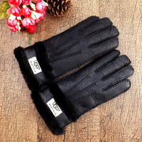 Ugg: Gloves Winter thickening warm winter