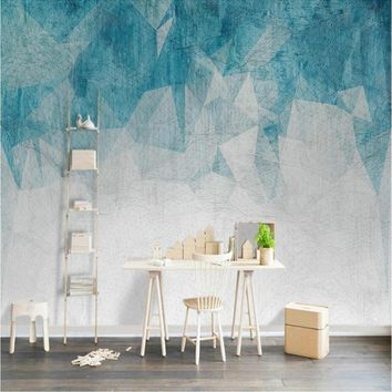 Simple Abstract Line Geometry Wallpapers Background Wall Murals 3d Wall Paper Home Improvement Decorative Wallpaper for Walls