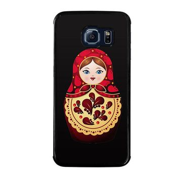 MATRYOSHKA RUSSIAN NESTING DOLLS Samsung Galaxy S6 Edge Case Cover