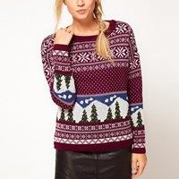 ASOS Woodlands Fairisle Jumper at asos.com