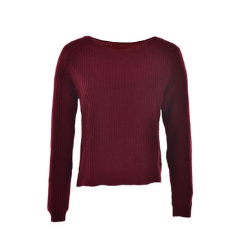 korean style long sleeve casual crop sweater women sweaters pullovers slim solid knitted jumpers sweter mujer SM6