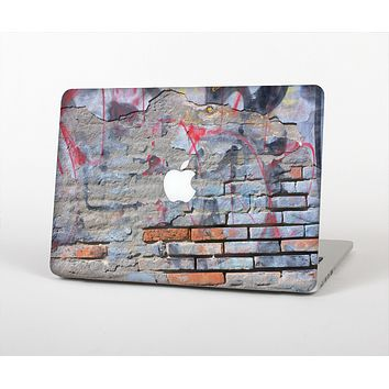 The Blue Chipped Graffiti Wall Skin for the Apple MacBook Air 13""