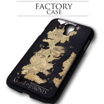 Game of Thrones Map Kingdom Samsung Galaxy S3, Samsung Galaxy S4,Samsung Galaxy S5, Samsung Note 3, Samsung Note 4 case