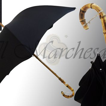 Marchesato Classic Black Umbrella
