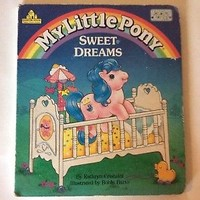 My Little Pony Sweet Dreams Vintage Book Excellent Condition!