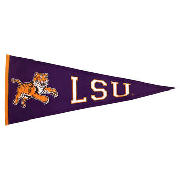 LSU Tigers NCAA Traditions Pennant (13x32)