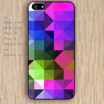 iPhone 6 case colors irregular geometry iphone case,ipod case,samsung galaxy case available plastic rubber case waterproof B122