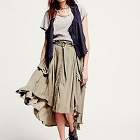 Free People Womens Stealing Your Sunshine Skirt