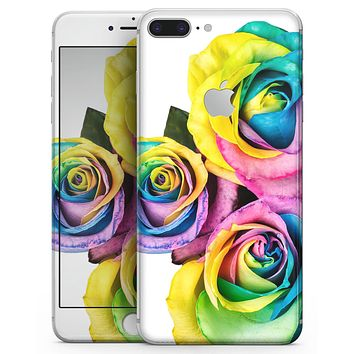 Rainbow Dyed Roses - Skin-kit for the iPhone 8 or 8 Plus