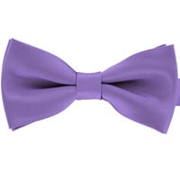 Tok Tok Designs Pre-Tied Bow Tie for Men & Teenagers (B15, Purple)