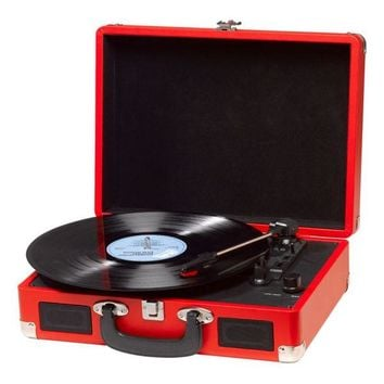 Record Player Denver Electronics VPL-120 Red